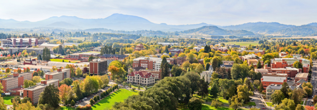 image of OSU and Corvallis, Oregon